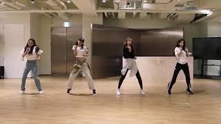 Mirrored Seulgi X Sinb X Chungha X Soyeon Wow Thing Dance Practice