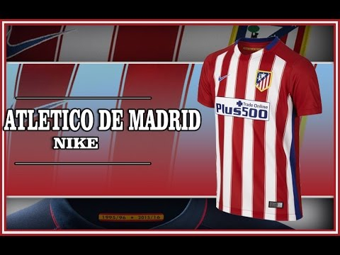 Camiseta Atletico de Madrid 15 16 Nike jersey