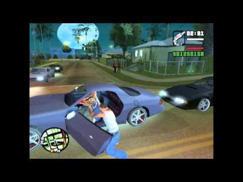 GTA San Andreas - Como hacer un Kamehameha