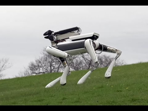 I Love Science / Boston Dynamics представила SpotMini