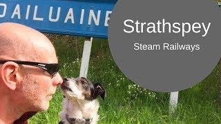 Strathspey's Steam Railways (past & present) by campervan [CC]