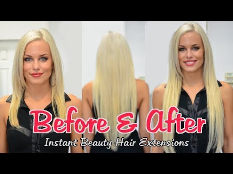 Best Before & After Hair Extensions Portfolio 2013   Instant Beauty ♡