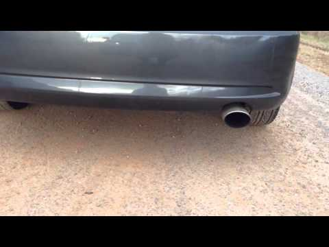 2005 scion tc with weapon R header and TRD exhaust