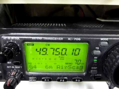 2011-12-26 Aircraft Scatter wobbling sound on 49.750 MHz (c) J Hartikka.AVI