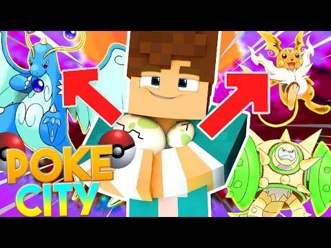 Minecraft: O OVO RACHOU !?! QUE POKEMON SAIRA ??? - PokeCity #45 ‹ Goten ›