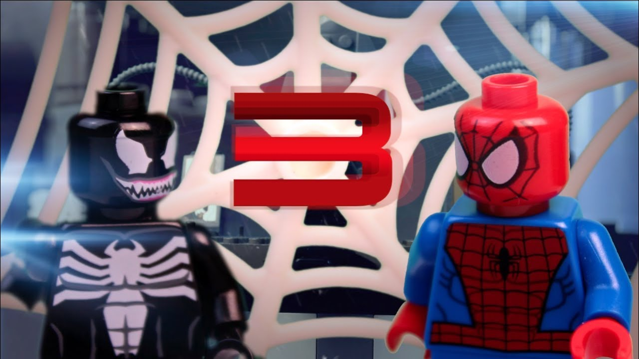 Lego ultimate spiderman vs venom and the beetle episode 3 - Lego spiderman 3 ...