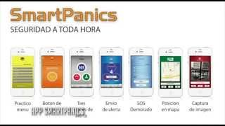 App para Salvarte en Emergencias Smart Panics de PS Total.