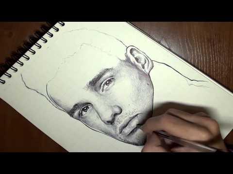 How to draw: Drawing Liam Payne (Dibujando a Liam Payne)