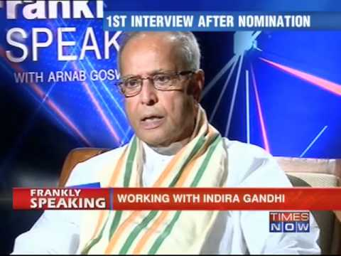 Frankly speaking with Pranab Mukherjee -Part - 4/6