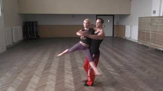 Dance lifts and tricks 2014, Milan and Hana CZE