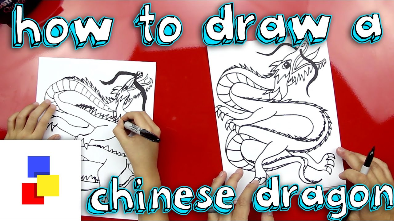 How To Draw A Dragon Body For Kids