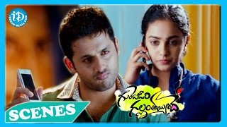 Gunde Jaari Gallanthayyinde - Gunde Jaari Gallanthayyinde Movie Back to Back Love Scenes - Nitin - Nitya Menon