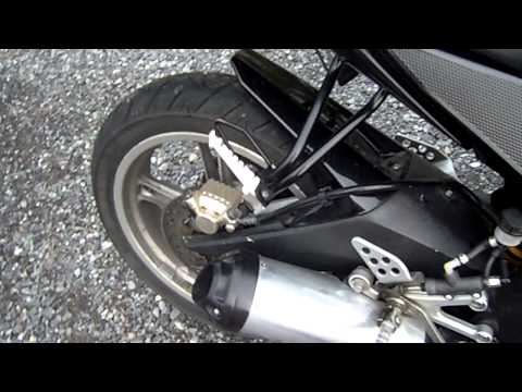 Original Exhaust Sound Modded Yamaha Yzf R-125 klip izle