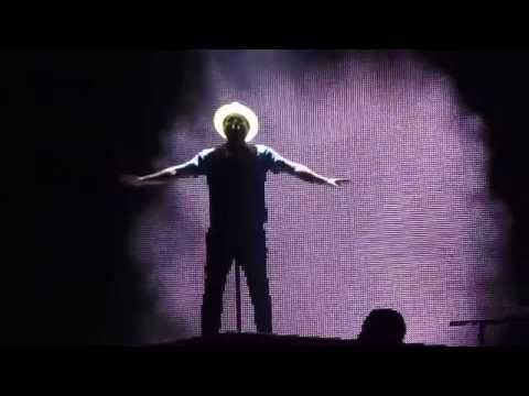 Bruno Mars gorilla Toronto Air Canada Centre July 26 2014 video