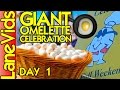 🍳 GIANT OMELETTE CELEBRATION 🎉 Day 1 - Things to do in Louisiana - [Abbeville, LA] | LaneVids
