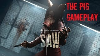 Dead by Daylight NEW SAW DLC! THE PIG FULL MATCH GAMEPLAY!