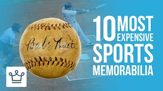 Top 10 Most Expensive Sports Memorabilia In The World