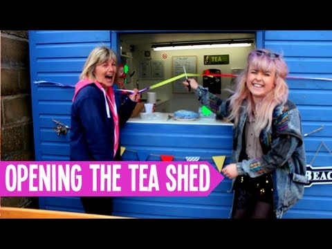 Opening the Tea Shed!