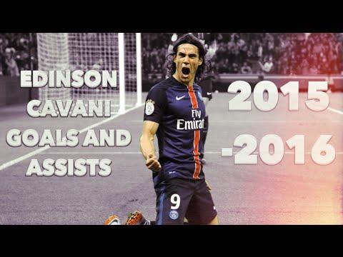 Edinson Cavani ● Goals & Assists for PSG so far ● 2015-16