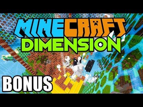 1000 TNT VS. UNSERE DIMENSION BASIS  ☆ Minecraft DIMENSION #BONUS