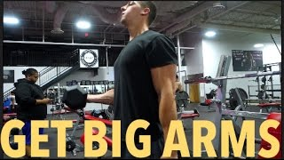 GET BIGGER ARMS IF YOU ARE TALL