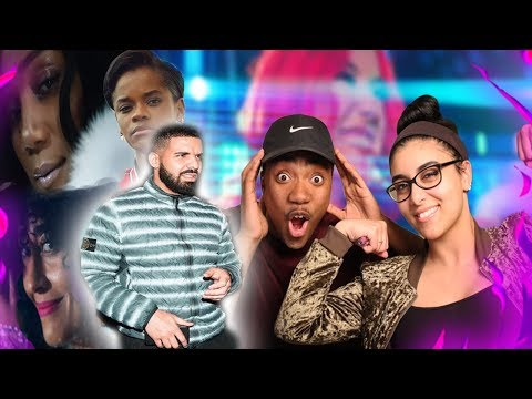 Drake - Nice For What | REACTION VIDEO🔥👍 | BETTER THAN GODS PLAN?? 😱🔥 GIRLFRIEND REACTION #OVO🦉