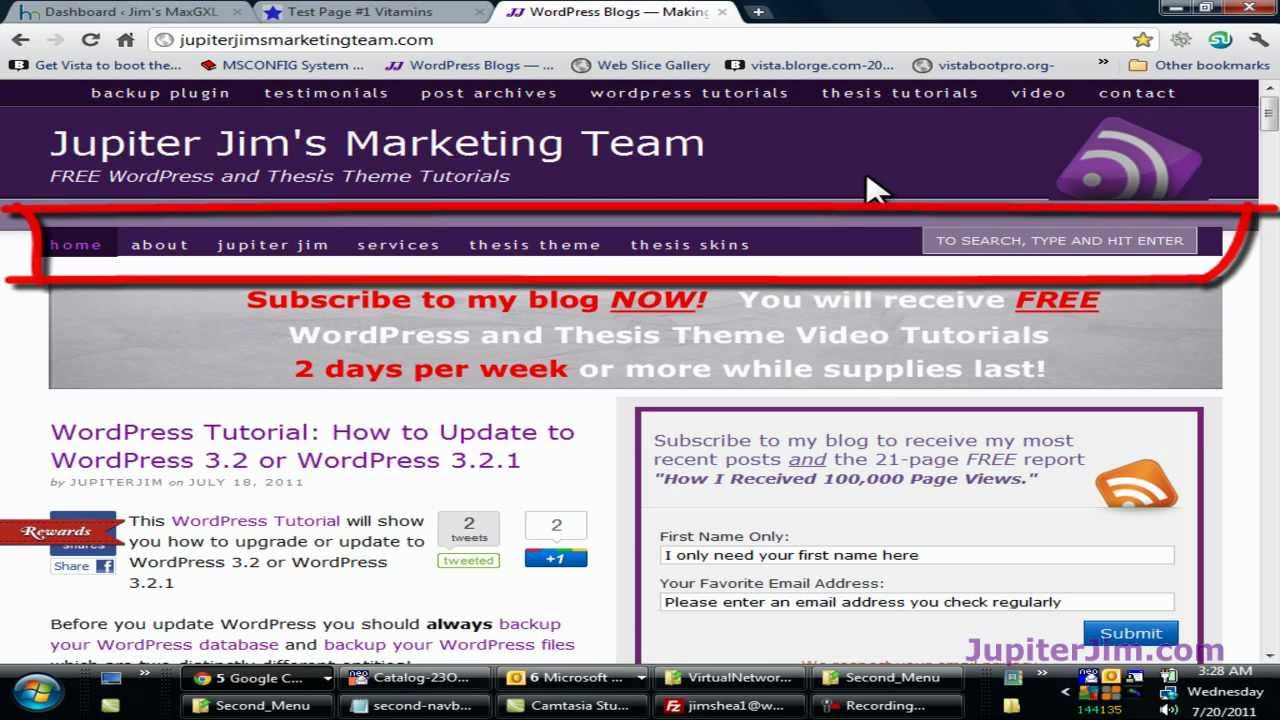 thesis theme tutorial youtube Wp solver » wordpress themes » 10 awesome wordpress themes for tutorial sites convert youtube shop social social media theme themes thesis tips top lists.