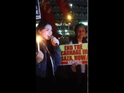 Filipino Actress Kylie Padilla on #Gaza