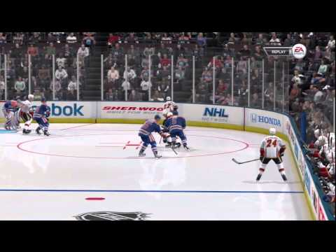 NHL 12 Be A Pro: Left Wing (Draft and Preaseason)