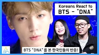 "Download Lagu Koreans React to BTS ""DNA"" [ASHanguk] Gratis STAFABAND"