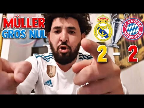 REAL MADRID VS BAYERN 2-2 DEBRIEF (MÜLLER LE GROS NUL) thumbnail