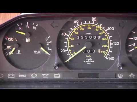 Mercedes W124 Outside Temperature Gauge Replacement