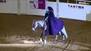 "Aggie Wins World Title for Performing ""Let It Go"" in Freestyle Reining"