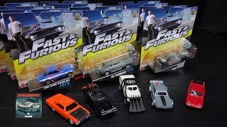 Mattel Fast & Furious Car Toys Collection - May 2017
