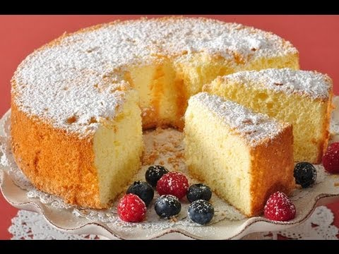 American Sponge Cake Recipe Demonstration