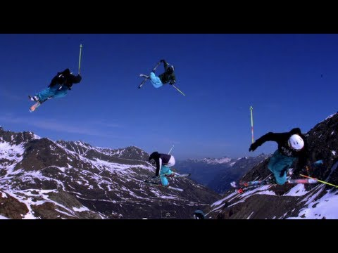 Freestyle Skiing Madness in Kaunertal - Legs of Steel - Park clip