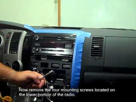 Rosen Entertainment Toyota Tundra Navigation Install Youtube