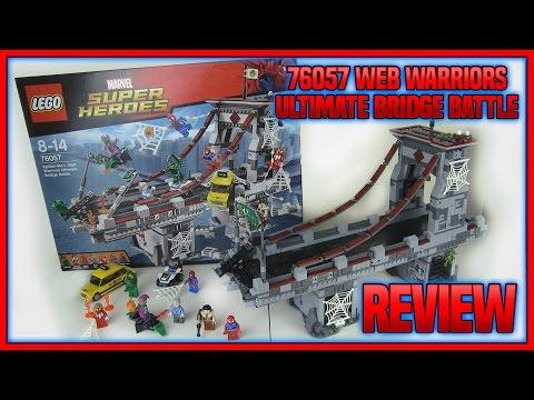 LEGO 76057 Spider-Man Web Warriors Ultimate Bridge Battle REVIEW