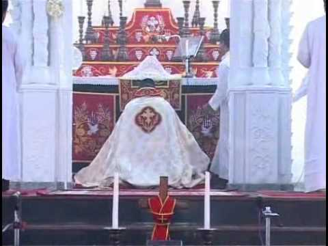 St. Thomas Jacobite Syrian Cathedral Church, Mazhuvannoor Qurbana video