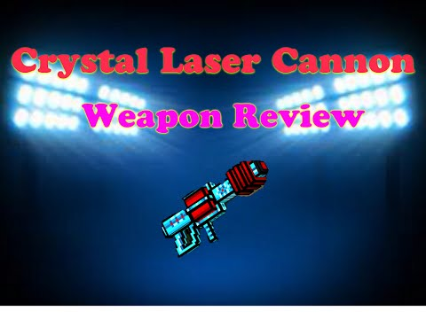 Pixel Gun 3D: Crystal Laser Cannon Weapon Review (iOS/Android)