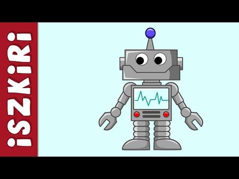 ISZKIRI - Kicsi Robot (otthon ülő változat) - gyerekdal, mese, videoklip