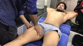 ASMR Indian Barber Relaxing Deep Tissue Foot/Legs Massage by Shamshed Alam