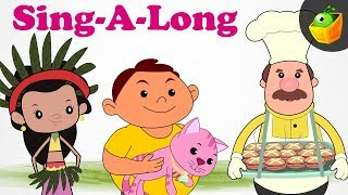 Sing A Long Rhymes Compilation | Animated English Songs | Magicbox English