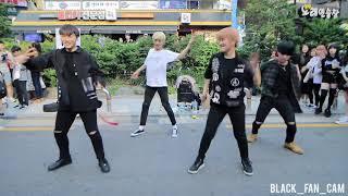 180623 효진, 유성, 태영, 태유 홍대공연 1차 / blackpink (블랙핑크) - 뚜두뚜두