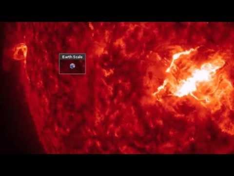 X Class Solar Flare - March 11, 2015