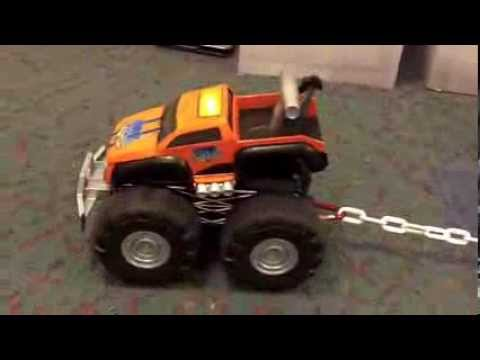 Max Tow Truck by Jakks Pacific. Pull 150 Pounds With Toy Car
