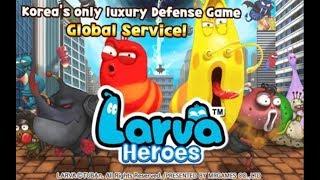 Trò Chơi Ấu trùng tinh nghịch Larva Heroes Lavengers