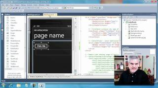 Day 01, Part 03--Writing Your First Windows Phone 7 Application.wmv