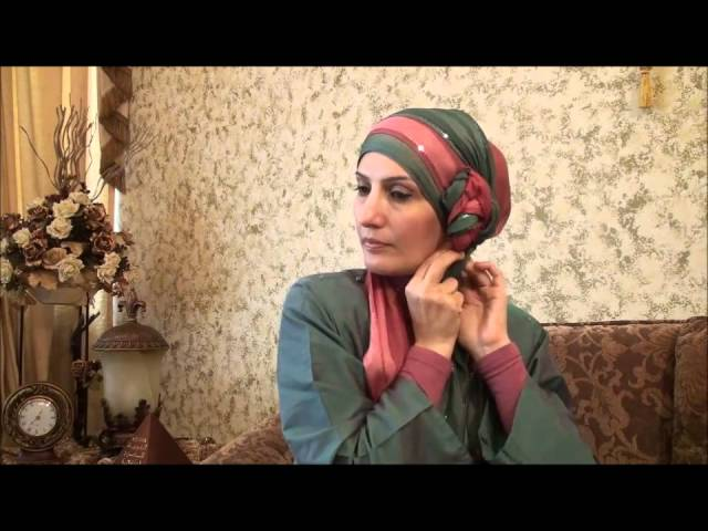 Hijab Tutorial # 11(Elegant Hijab w/ Twisted Flower)