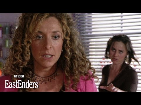 Whilst standing over her with a pair of scissors, Chrissie presses Kate for the truth about her affair. Subscribe to the EastEnders channel: http://bit.ly/wx...